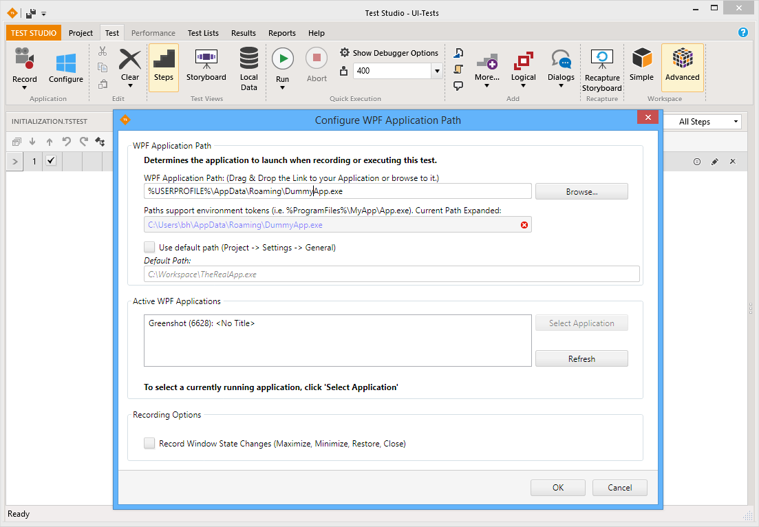 Automated WPF Testing with Telerik Test Studio | Benkirane