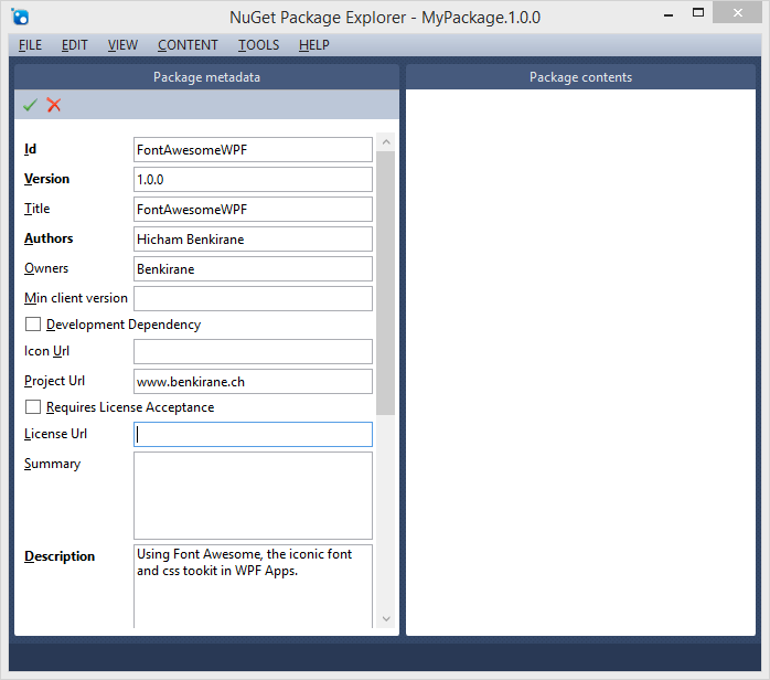 Creating and Publishing Your Own NuGet Package   Benkirane