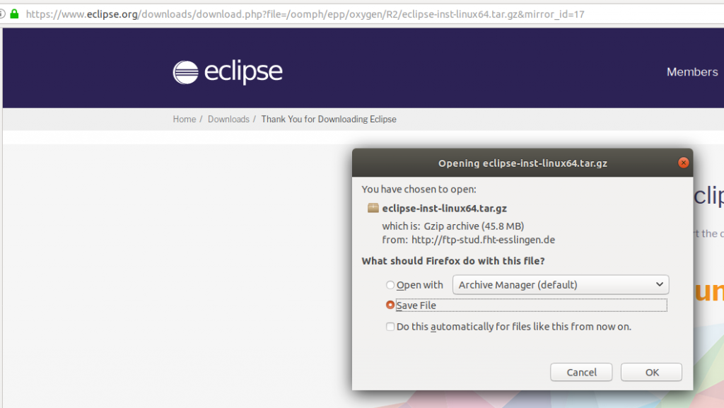 How To Install Eclipse IDE On Ubuntu | Benkirane